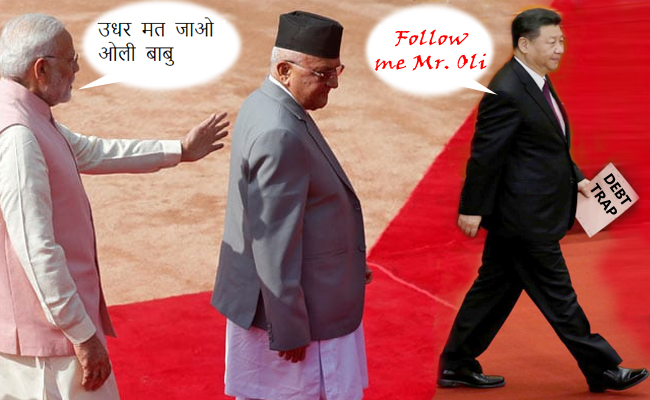 Subservient Nepal dupes China, sides with India