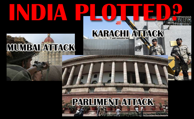 Who Plotted Karachi Attack: India?