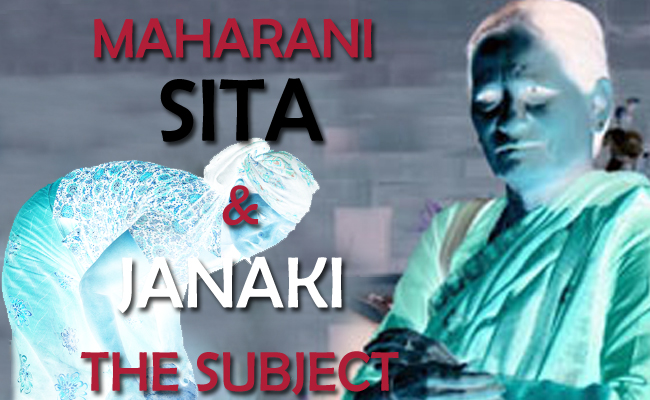 Nepal: Queen Sita and Janaki- the subject!
