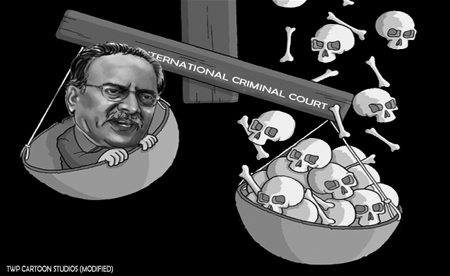Nepal's Prachanda awaiting ICC trial?