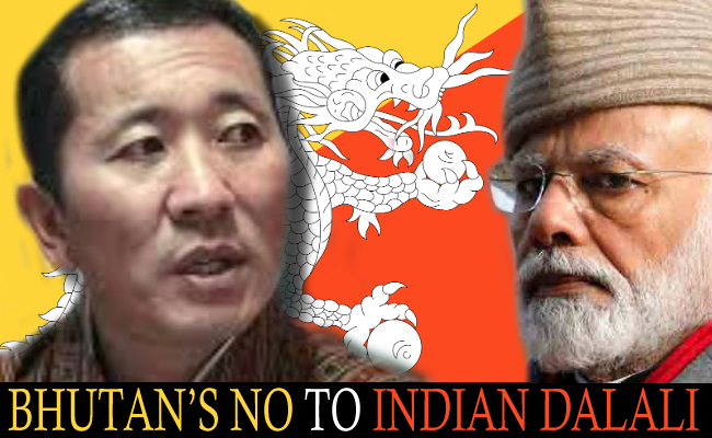 Bhutan's Tight Slap on India!