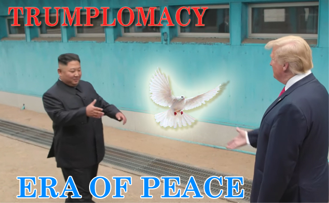 Trumplomacy: Expediting Peace in Korean Peninsula !