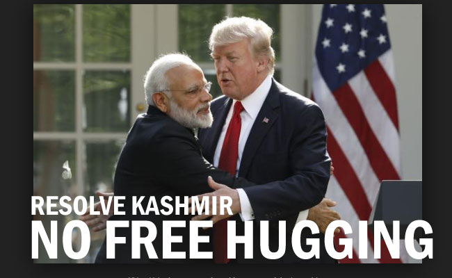 US President Trump Pressure on India to resolve Kashmir Issue vital!