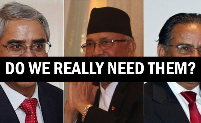 Are Nepali leaders Indian Slaves?