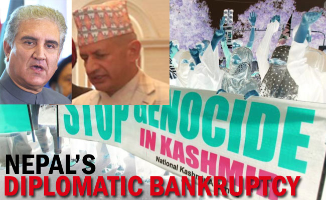 Nepal's Diplomatic Bankruptcy and India's Kashmir Genocide!