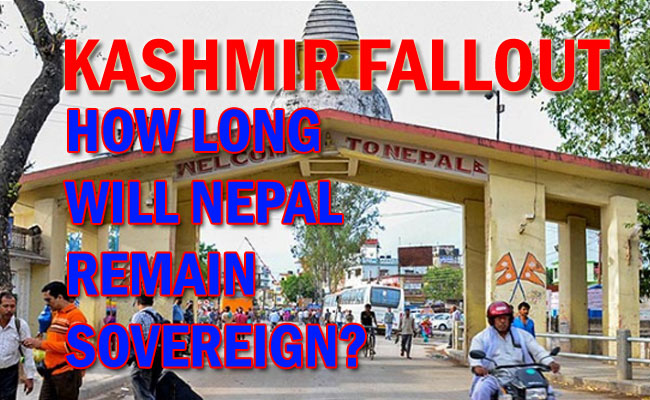 Is Nepal India's Next prey after Kashmir?