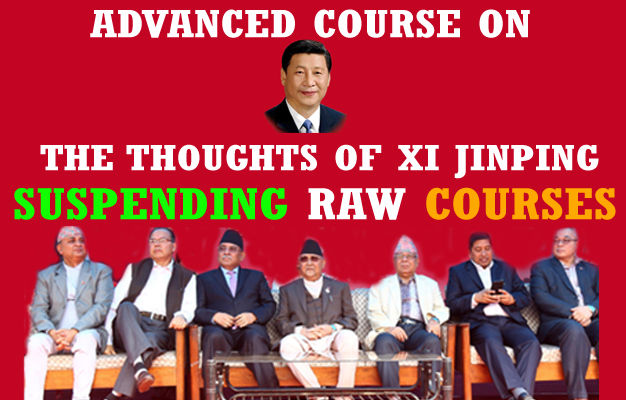 Nepal's RAW disciples take lessons on Xi's ideology!