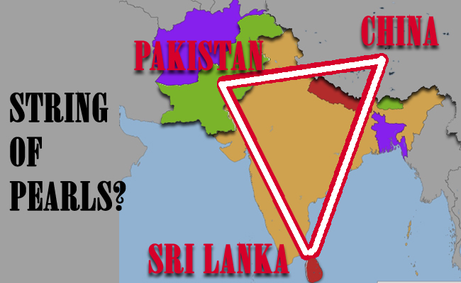 Encircling India: The Pakistan-China-Sri Lanka Alliance!