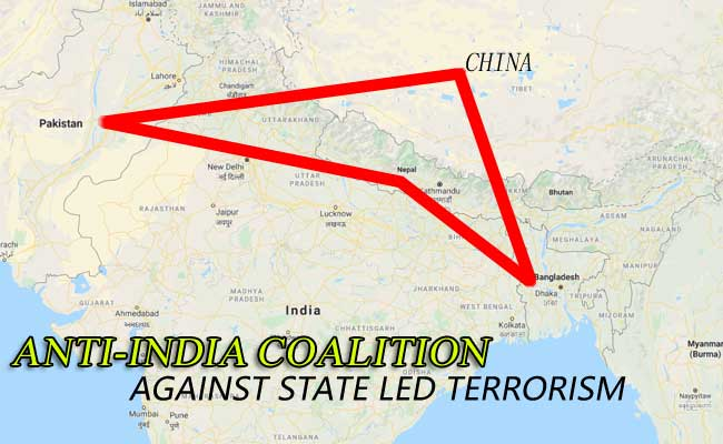 Adding China in Anti-India alliance!