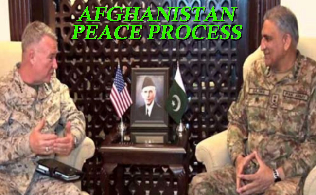 US & Pakistan discuss Peace in Afghanistan & South Asian Security