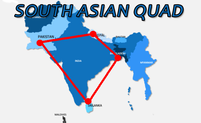 US-India Pact demands New South Asian Quad:
