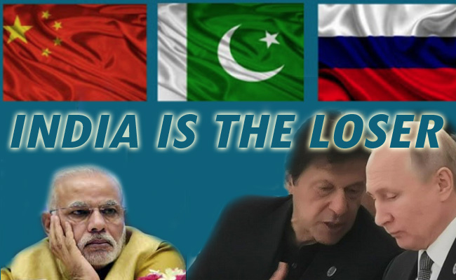 Russia: Close to China-Pakistan & Ignores India!
